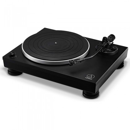 Audio Technica AT-LP5X Fully Manual Direct Drive Turntable Black Disc Player (ATLP5X AT LP5X)