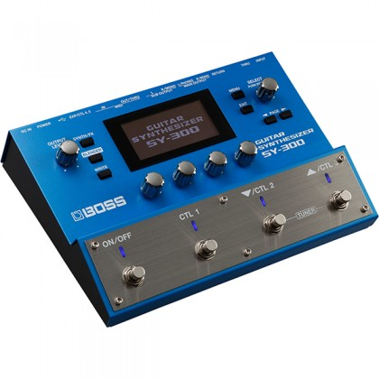 Boss SY-300 Effect Pedal Synthesizer Synth for Electric Guitar (SY300 SY 300)