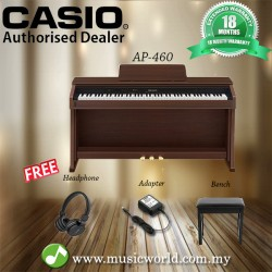 CASIO AP460 CELVIANO DIGITAL PIANO - BROWN (AP 460 / AP-460)