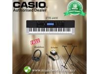 Casio CTK-4400 Portable Keyboard With Headphone Stand (CTK4400 / CTK 4400)