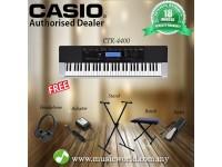 Casio CTK-4400 Portable Keyboard Premium Bundle (CTK4400 / CTK 4400)