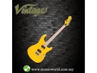 VINTAGE GUITAR V6M24 REISSUED ELECTRIC GUITAR ~ DAYTONA YELLOW