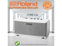ROLAND CUBE Lite Monitor Amplifier 10 Watt Guitar Amp WHITE (CUBELM / CUBE-LM)