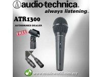 Audio Technica ATR1300 Unidirectional Dynamic Vocal/Instrument Microphone (ATR 1300)