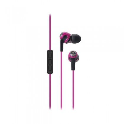 Audio Technica ATH CK330iS In Ear Inner Ear Headphone Earphone Pink (ATHCK330iS)