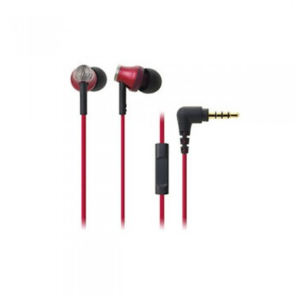 Audio Technica ATH CKR50iS In Ear Headphone For Smartphone (ATHCKR50iS)