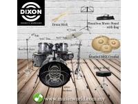 Dixon Drum Set Black Widow Drum Kit