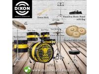 DIXON DRUM SET PYTHON SERIES LIMITED EDITION DRUM KIT