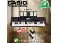 CASIO CT-X700 PORTABLE KEYBOARD ELECTRIC KEYBOARD (CTX700 / CT X700 / CTX 700)