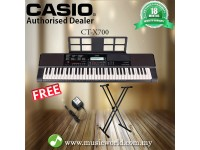 CASIO CT-X700 PORTABLE KEYBOARD ELECTRIC KEYBOARD With STAND (CTX700 / CT X700 / CTX 700)