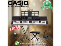 CASIO CT-X700 PORTABLE KEYBOARD ELECTRIC KEYBOARD PREMIUM BUNDLE (CTX700 / CT X700 / CTX 700)