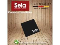 Sela® Cajon Pad Black SE006
