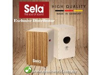 Sela® CaSela Pro Zebrano SE012 CAJON