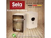 Sela SE079 Cajon Casela Pro Vintage Brown Professional Snare Cajon Bundle