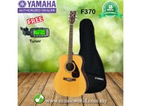 Yamaha F370 Natural Wood Full Size Acoustic Guitar (F-370 / F 370)