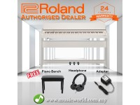 Roland F-140R 88 key Digital Home Piano Bundle White (F140R F140 F 140 R)