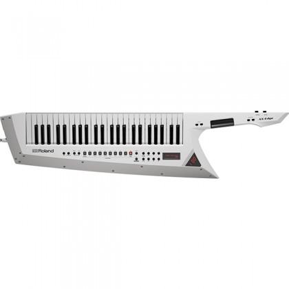 Roland AX-EDGE 49 Key USB MIDI Bluetooth Controller Synthesizer Keytar White (AX EDGE)