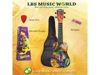 JHS TMUK1 Teenage Mutant Ninja Turtles Ukulele Package With Bag Pitchpipe Plectrum Preview
