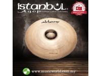 "Istanbul Agop cymbals Alchemy Medium 18"" Crash Drum Set Drum Kit Cymbal"