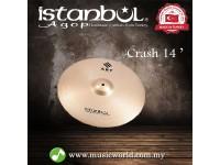 "ISTANBUL AGOP Cymbals ART 14"" Crash Cymbal"