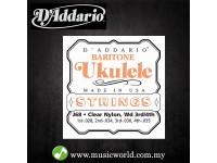 D'Addario J68 Baritone Ukulele Strings D addario Daddario