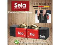 Sela SE 055 Cajon Tac Tic 3 in 1 Multi Percussion Tool Cajon Tambourine