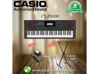 CASIO CT-X5000 61 Key Portable Keyboard Basic Bundle (CTX5000 CTX 5000)