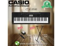 CASIO CTK-3500 61 Key Portable Keyboard With Stand (CTK3500 / CTK 3500)