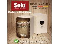 Sela SE 075 Casela Brown Vintage Professional Snare Cajon
