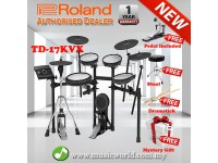 Roland TD-17KVX Digital Drum V-Drums V Drum Bundle (TD 17KVX / TD17KVX)