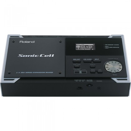 (Clearance) Roland Sonic Cell Expandable Synthesizer Module with USB Audio Interface for PC (SonicCell)