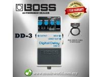 Boss DD-3 Digital Delay Guitar Effect Pedal (DD3 / DD 3)