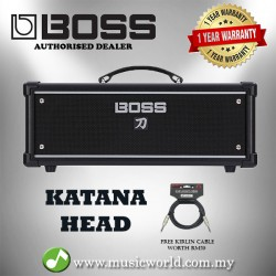 Boss Katana Head 100/50/0.5 Watt Guitar Amp with Internal speaker (KTN-Head)