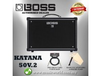 BOSS Katana 50 Guitar Amplifier Version 2 50/25/0.5 Watt (KTN-50)